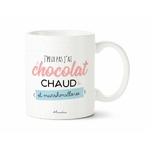 Mug J'peux pas j'ai chocolat chaud et marshmallow 1