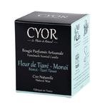 Bougie Fleur De Tiaré - Monoï - Cyor 2