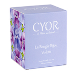 Bougie-bijou Violette - Cyor 2