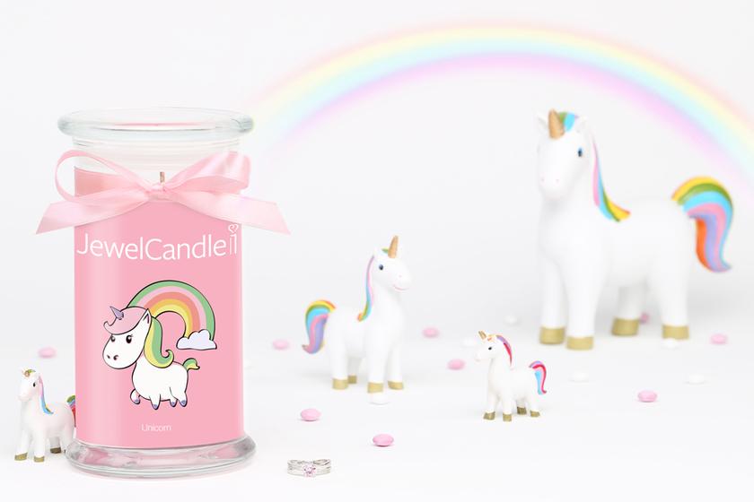 Bougie parfumée Unicorn (bague) - JewelCandle