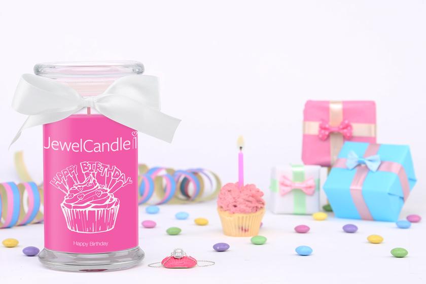 Bougie parfumée Happy Birthday (bracelet) - JewelCandle