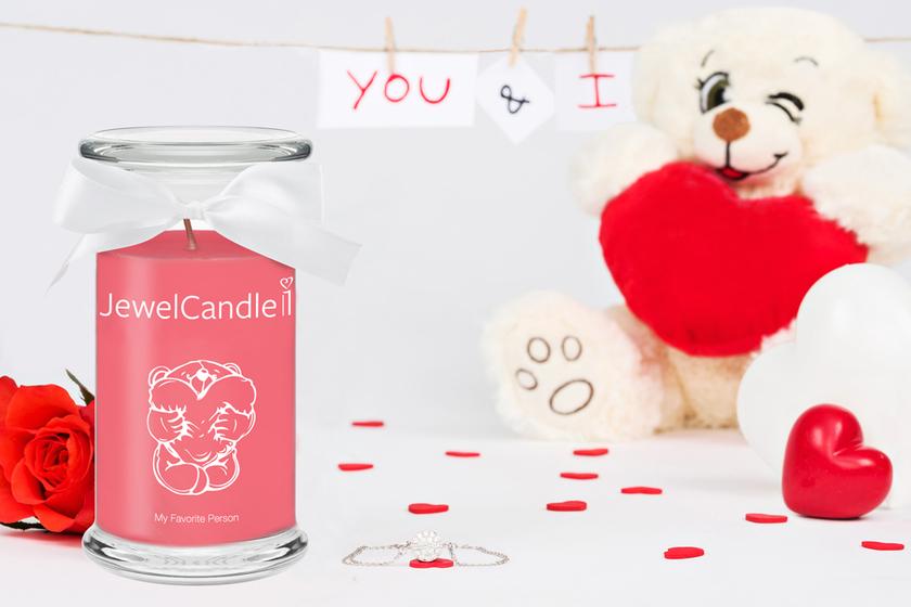 Bougie parfumée My Favorite Person (bracelet) - JewelCandle