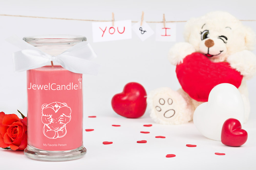 Bougie parfumée My Favorite Person (Collier) - JewelCandle