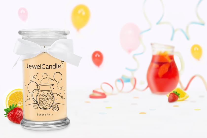 Bougie parfumée Sangria Party - JewelCandle