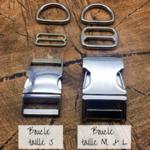 Boucle métal taille S (2)