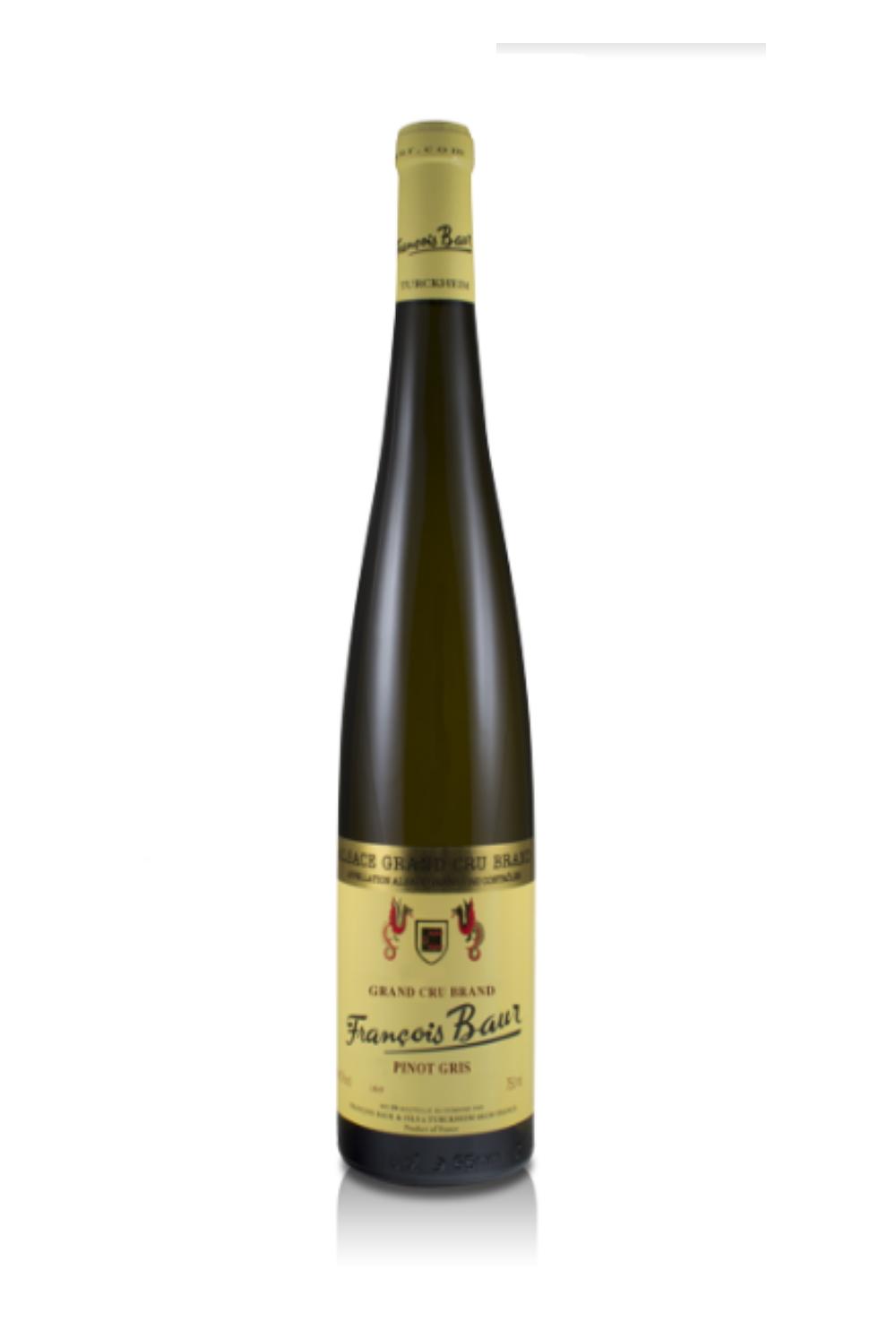 Pinot Gris Grand Cru Brand- François Baur -Lalsace- en-Bouteille -turckheim- bio