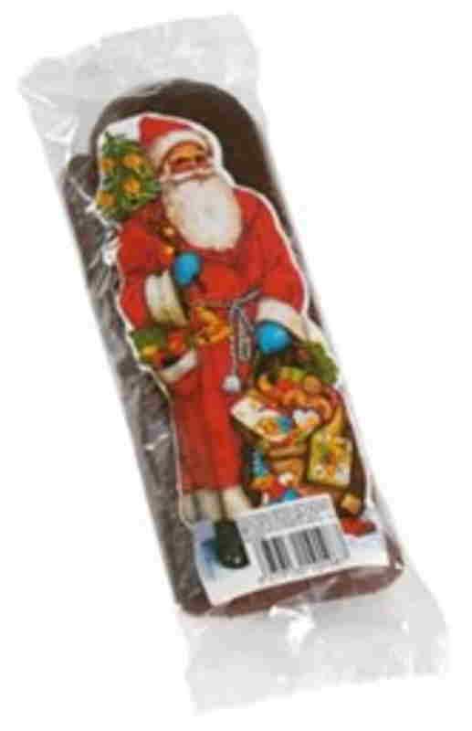 Père Noël chocolaté 23cm-Fortwenger  A108P -Fortwenger-lalsace-en-bouteille.com-Gertwiller
