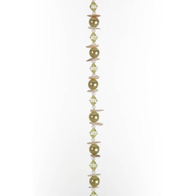 guirlande-de-perles-vert-180-cm JOL83048