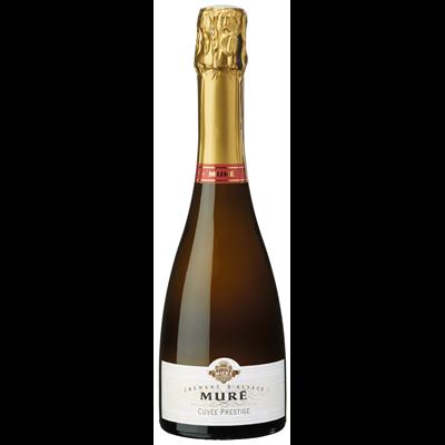 Crémant d'Alsace Brut Cuvée Prestige Domaine Véronique et Thomas Muré 37.5  .lalsace-en-bouteille,