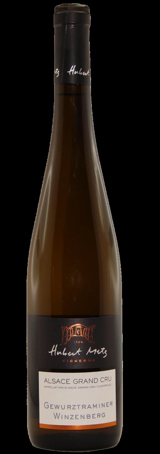 Gewurztraminer Grand Cru Winzenberg 2017 Domaine Hubert Metz, lalsace-en-bouteille
