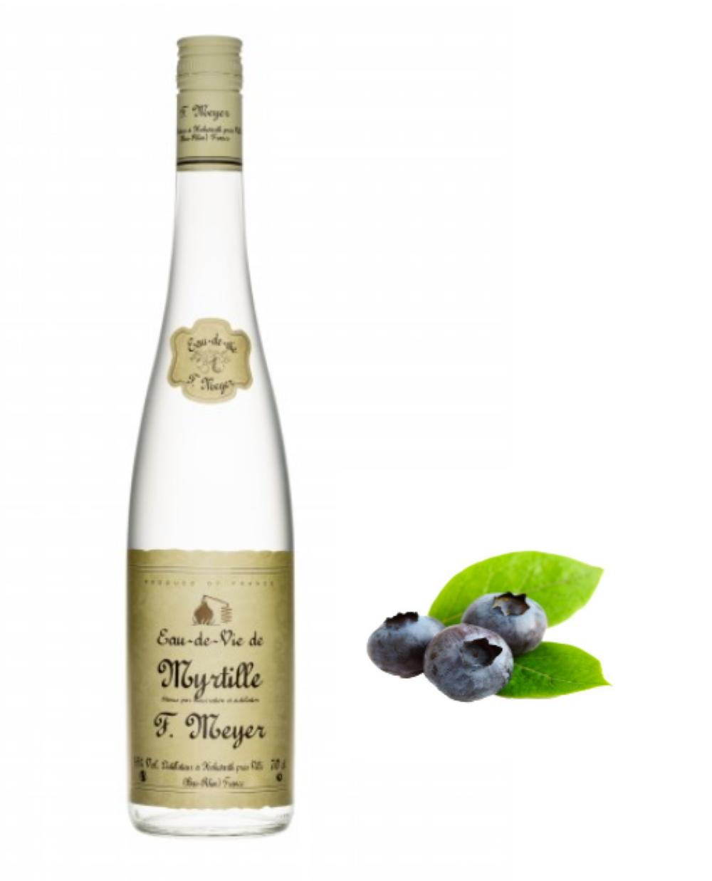 Eau-de-Vie de Rare  Myrtille  Meyer'S lalsace-en-bouteille.com 1000