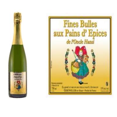 FINES BULLES DE L'ONCLE HANSI AUX EPICES A PAINS D'EPICES      Produit de Saison