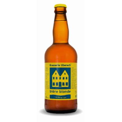 Bière Blonde-Lot de 6 Bouteilles - Brasserie Uberach