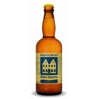 Bière Blanche-Lot de 6 Bouteilles - Brasserie Uberach