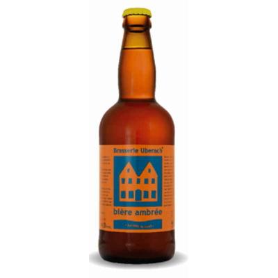 Bière Ambrée-Lot de 6 Bouteilles - Brasserie Uberach