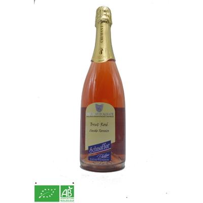 Crémant Alsace brut Rosé Cuvée Terroir