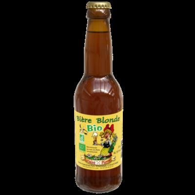 Bière  Bio Blonde-Lot de 6 Bouteilles -Brasserie Saint-Pierre