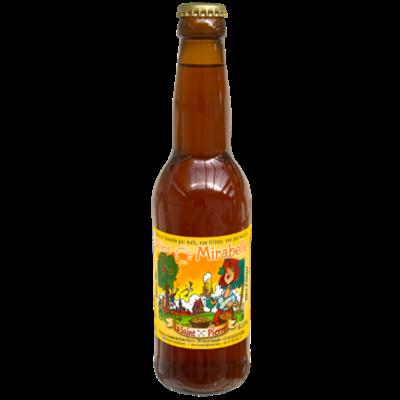 Bière  Mirabelle-Lot de 6 Bouteilles -Brasserie Saint-Pierre