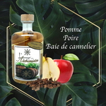 Rhum Poire Pomme Baie de cannelier ,L'arrangé des Alchimistes,lalsace-en-bouteille