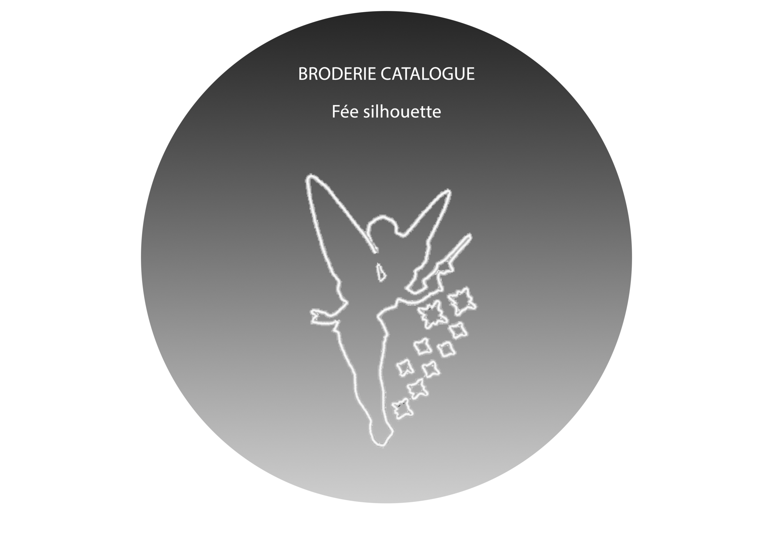 BRODERIE Catalogue Fee silhouette