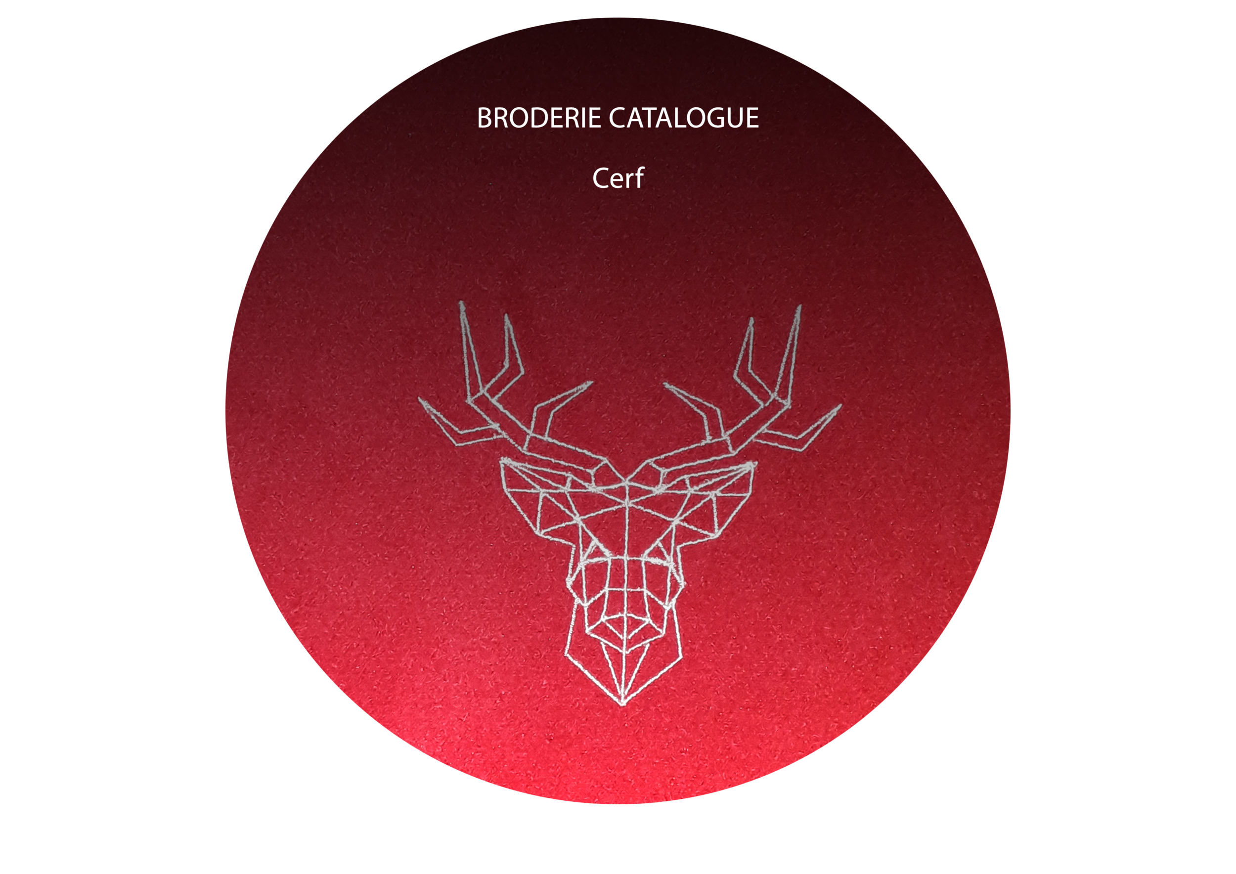 BRODERIE Catalogue Cerf