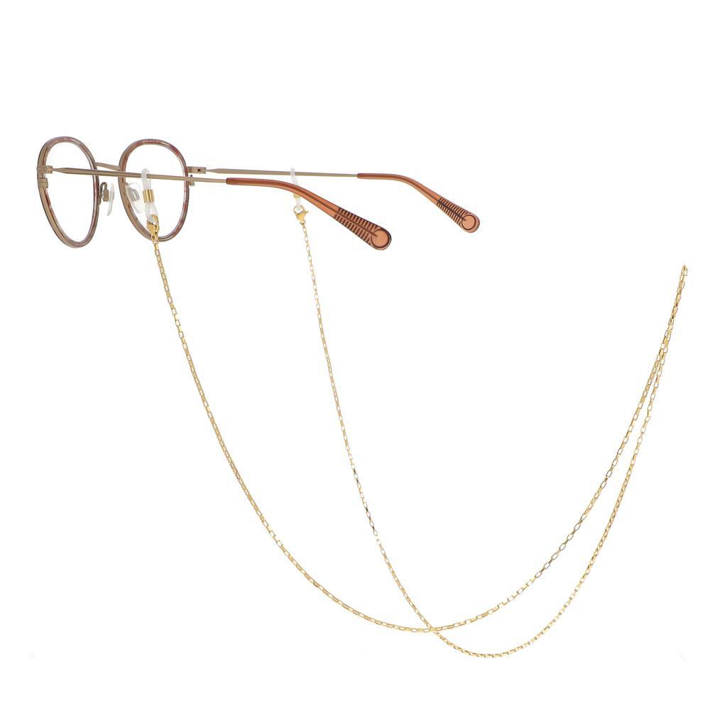 BIJOU 3 EN 1 rhodium (Chaîne de lunettes / Porte-Masque / Sautoir)
