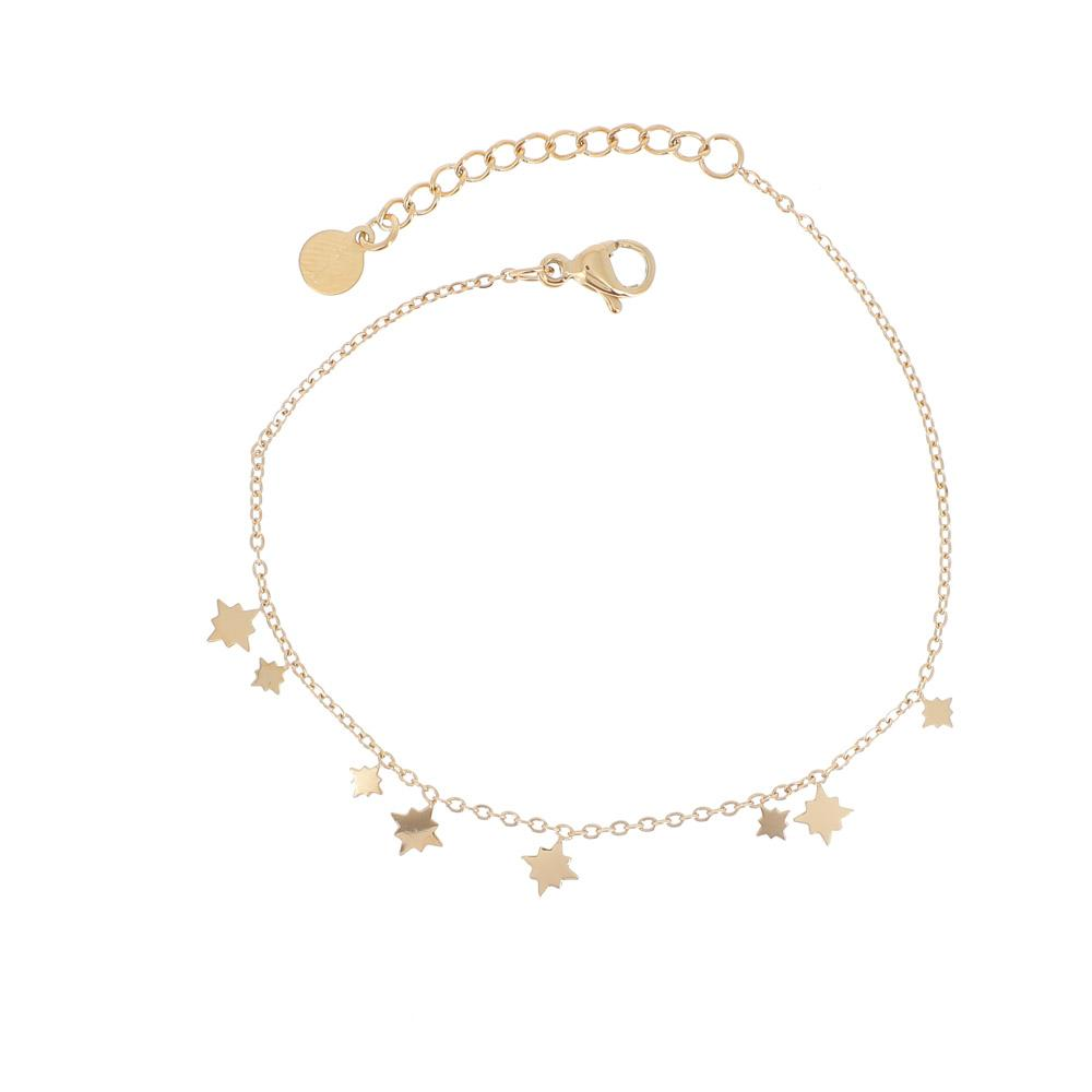 Bracelet avec mini étoiles