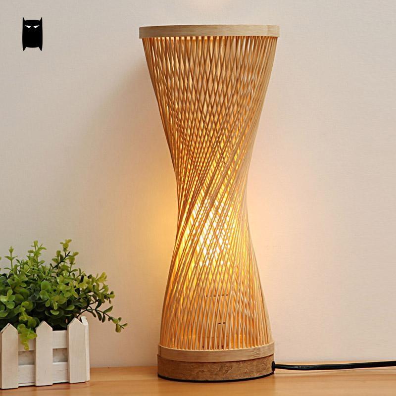Luminaire en bambou