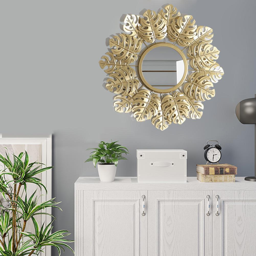 Miroir mural mode Monstera