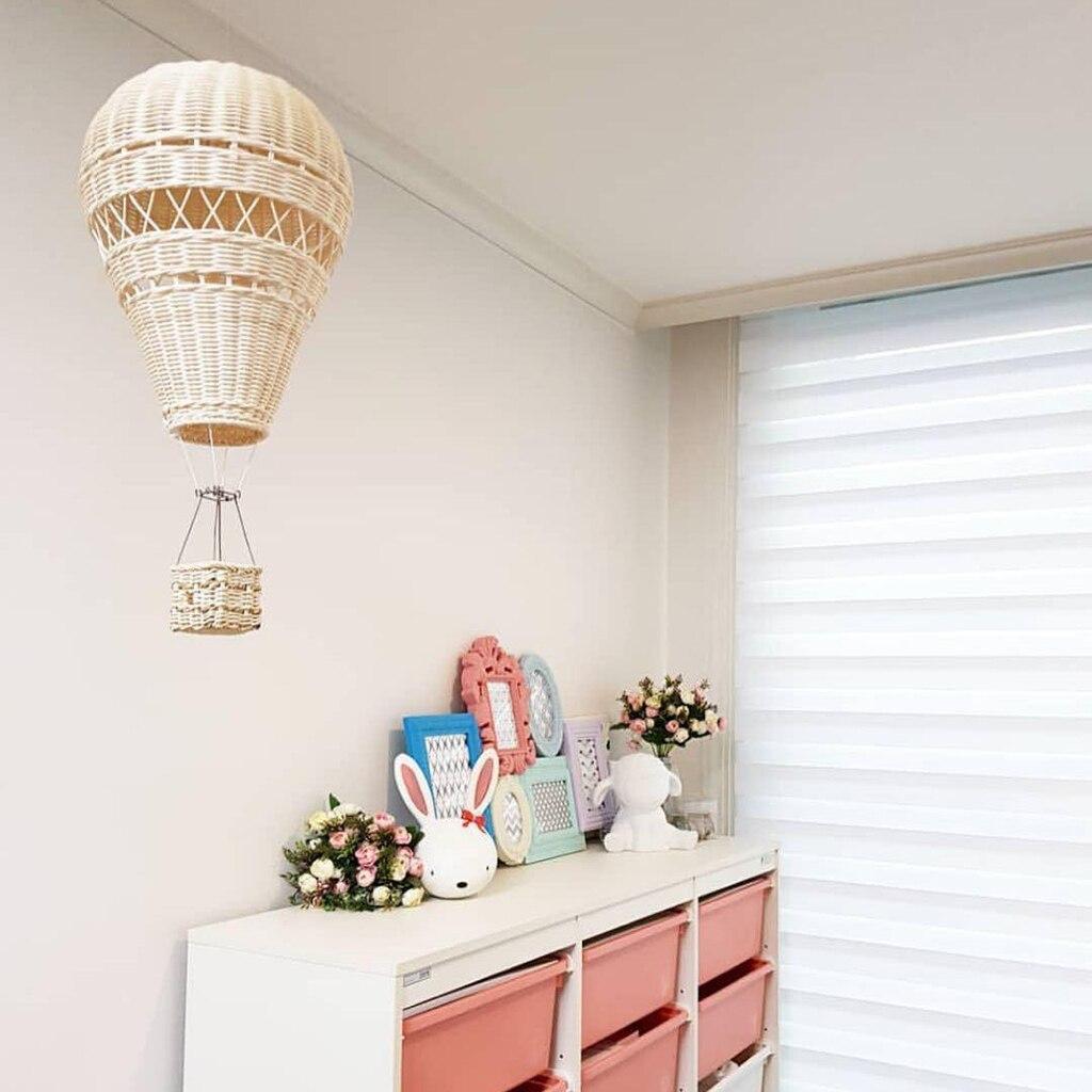 Ballon-Air-chaud-en-rotin-tiss-la-main-d-coration-murale-suspendue-pour-chambre-d-enfants