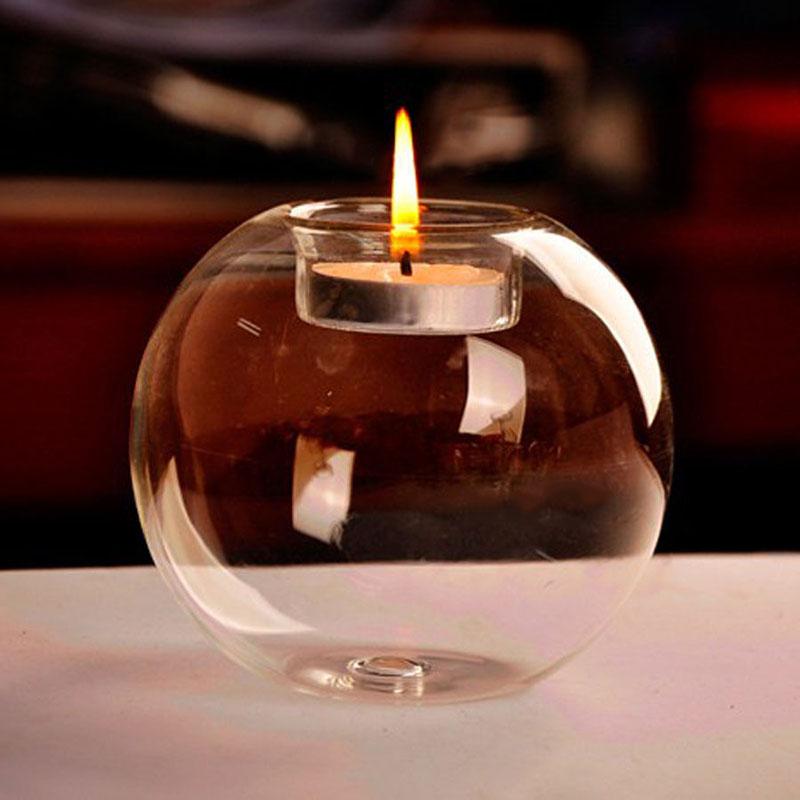 Bougeoir sphère