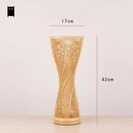 Bambou-osier-rotin-Spire-Vase-lampe-de-Table-luminaire-cr-atif-rustique-cor-en-asiatique-Style