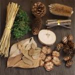 Pi-ces-en-bois-en-feuilles-de-Lichen-et-mousse-pour-la-fabrication-bricolage-couronne-11