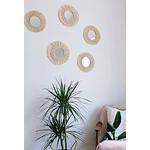 Tapisserie-murale-en-macram-35cm-de-diam-tre-miroir-d-coratif-rond-style-boho