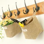 Nouveau-Salon-De-Stockage-sac-tissu-sacs-Suspendus-D-picerie-Tissu-Flowerpot-Logement-Panier