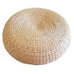 Tapis-de-paille-Tatami-la-main-armure-paille-naturelle-ronde-paissir-fen-tre-chaise-coussin-coussin