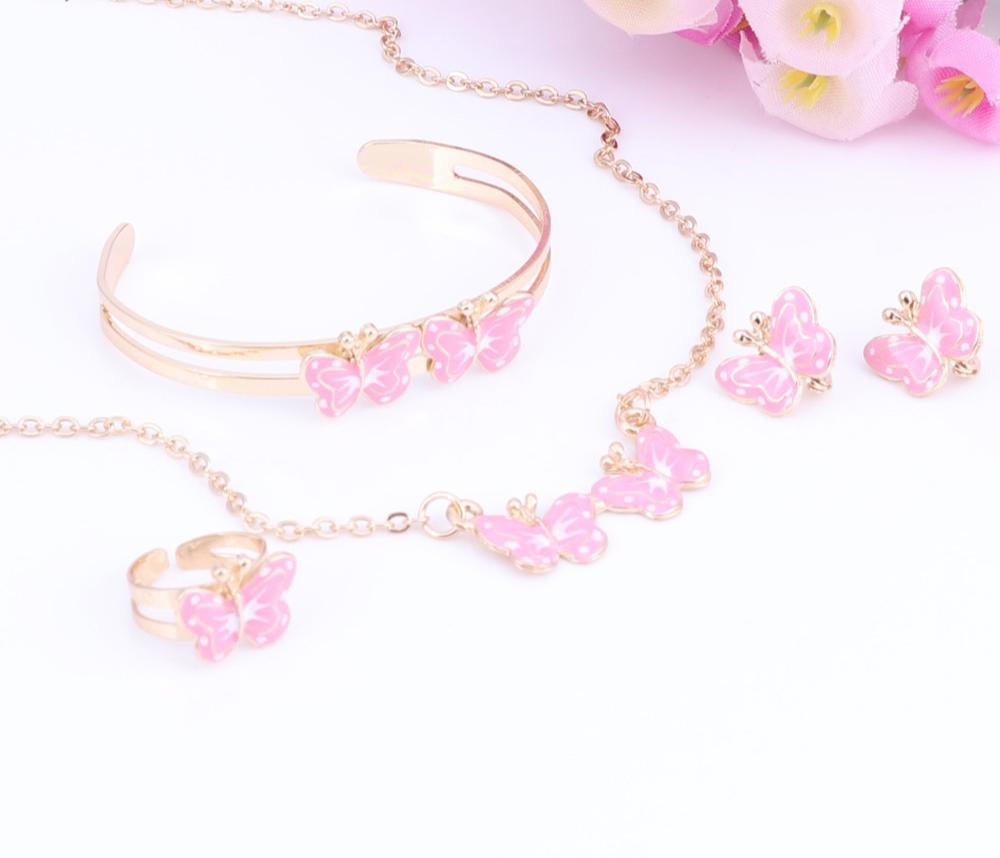bijoux papillon enfant