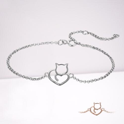Bracelet chat amour