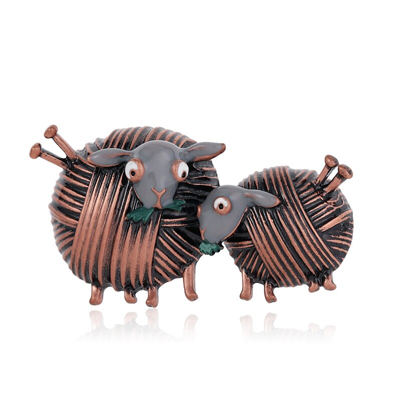 Broche mouton