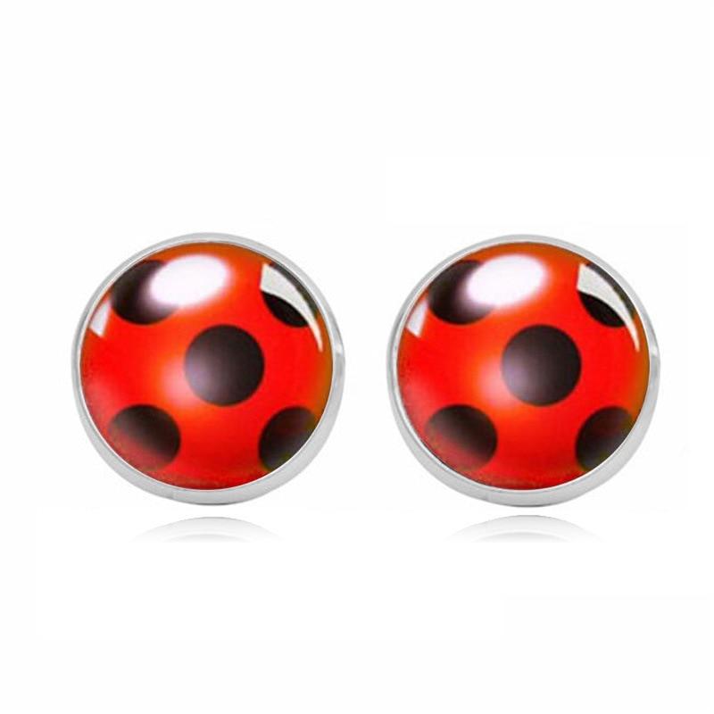 Boucles-d-oreilles ladybug