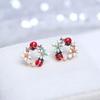 Style-cor-en-doux-color-fleur-boucles-d-oreilles-pour-femmes-filles-mignon-cristal-Animal-coccinelle