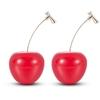 Nouvelle-mode-2019-boucles-d-oreilles-femmes-filles-r-sine-mignon-rond-Dangle-rouge-cerise-fruits