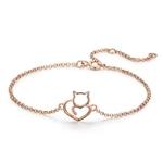 bracelet chat femme