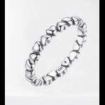 anneau coeur amour