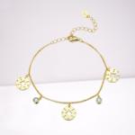 bracelet etoile or