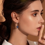 BAMOER-925-argent-Sterling-Secret-plan-te-lune-toile-boucles-d-oreilles-goutte-pour-les-femmes
