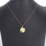 Collier-en-acier-inoxydable-DOTIFI-pour-femmes-tr-fle-amoureux-couleur-or-et-argent-pendentif-collier
