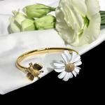 bracelet abeille ajustable