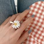 bague ajustable fleur