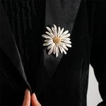 broche fleur marguerite